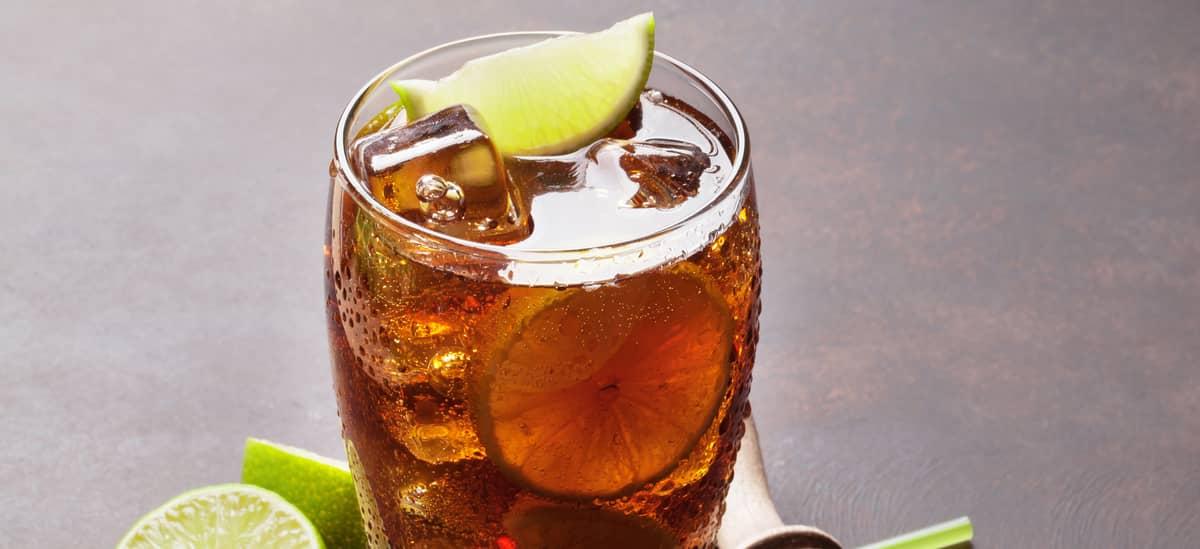 Cuba Libre Cocktail – original Rezept mit Rum