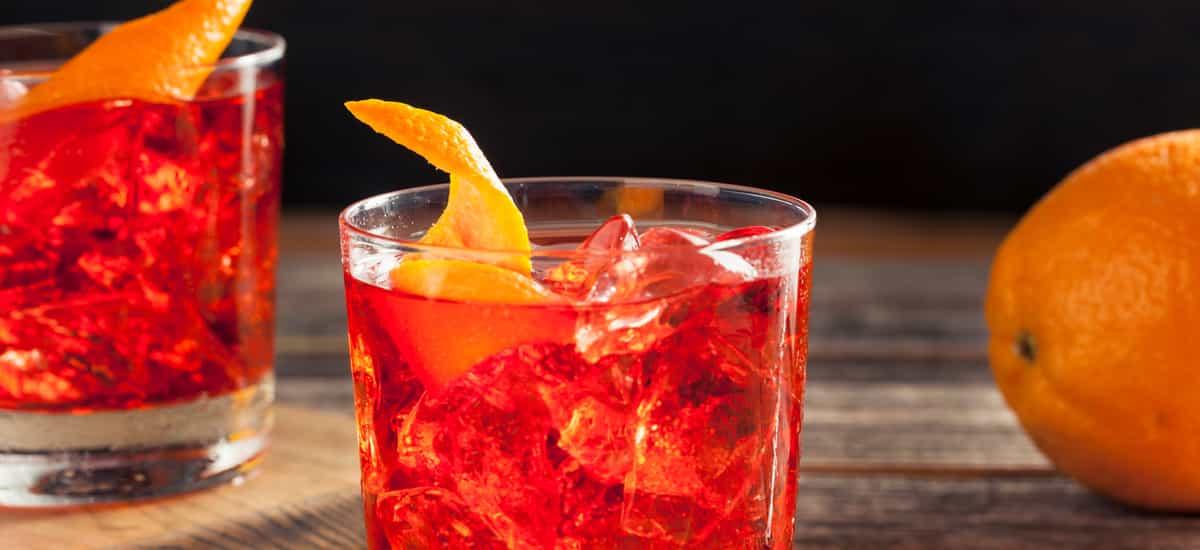 Negroni Cocktail (Original Rezept mit Wermut + Tipps vom Barkeeper)